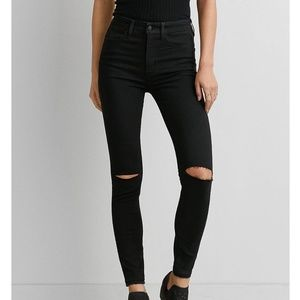 American Eagle | Super Hi Rise Jegging Jeans Black